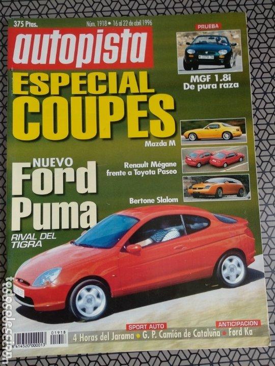 Coleccionismo de Revistas y Periódicos: Lote 4 revistas Autopista - Foto 2 - 174026633