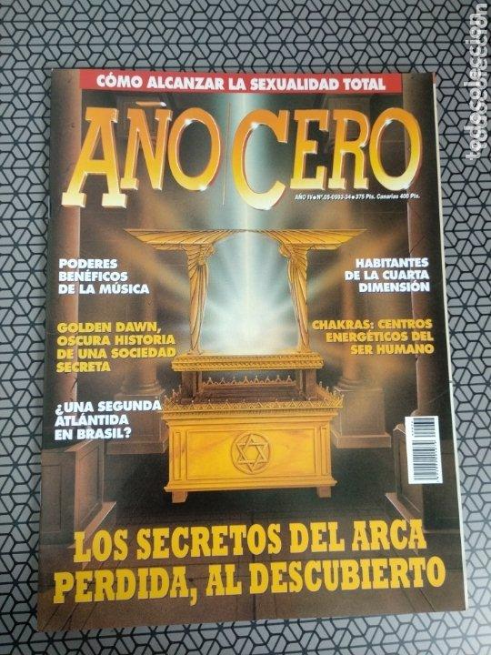 Coleccionismo de Revistas y Periódicos: Lote 28 revistas Año Cero - Foto 3 - 174027804