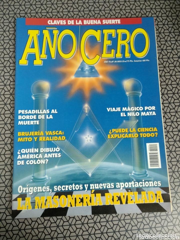 Coleccionismo de Revistas y Periódicos: Lote 28 revistas Año Cero - Foto 4 - 174027804