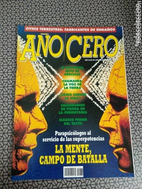 Coleccionismo de Revistas y Periódicos: Lote 28 revistas Año Cero - Foto 6 - 174027804