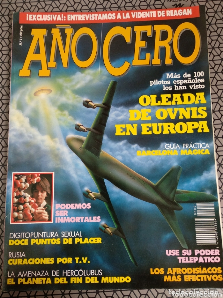 Coleccionismo de Revistas y Periódicos: Lote 28 revistas Año Cero - Foto 8 - 174027804