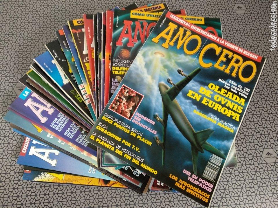 LOTE 28 REVISTAS AÑO CERO (Coleccionismo - Revistas y Periódicos Modernos (a partir de 1.940) - Otros)