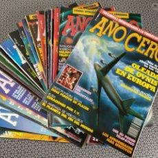 Coleccionismo de Revistas y Periódicos: LOTE 28 REVISTAS AÑO CERO. Lote 174027804