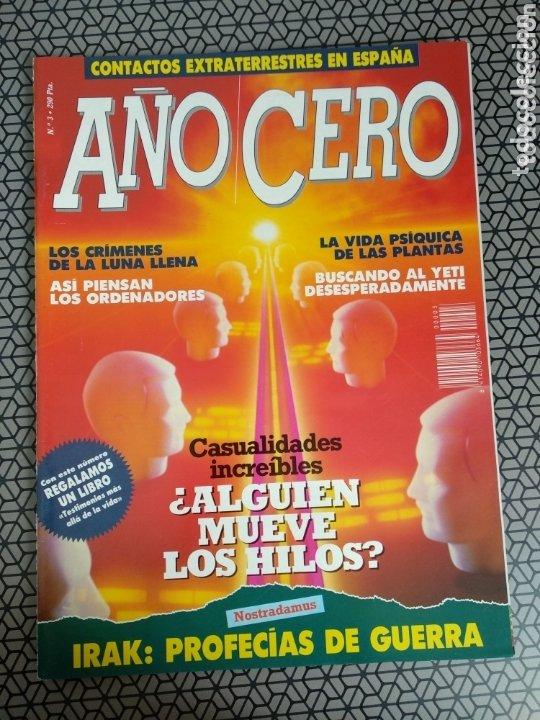 Coleccionismo de Revistas y Periódicos: Lote 28 revistas Año Cero - Foto 15 - 174027804