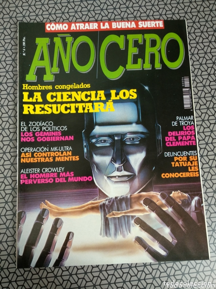 Coleccionismo de Revistas y Periódicos: Lote 28 revistas Año Cero - Foto 18 - 174027804