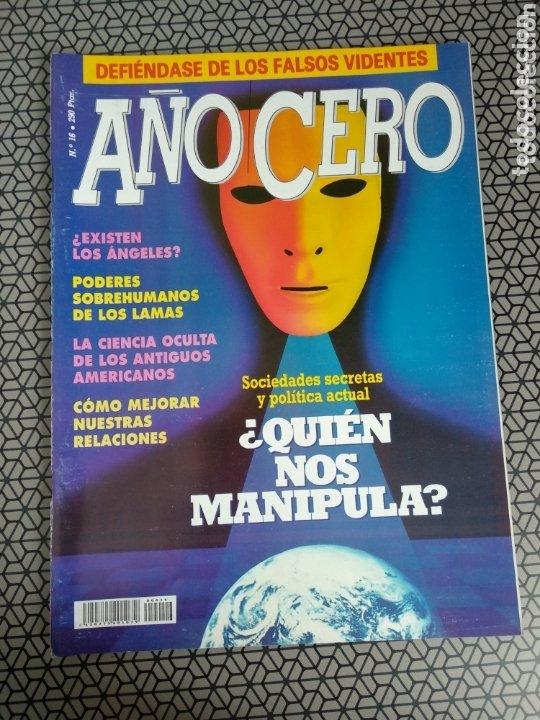 Coleccionismo de Revistas y Periódicos: Lote 28 revistas Año Cero - Foto 20 - 174027804