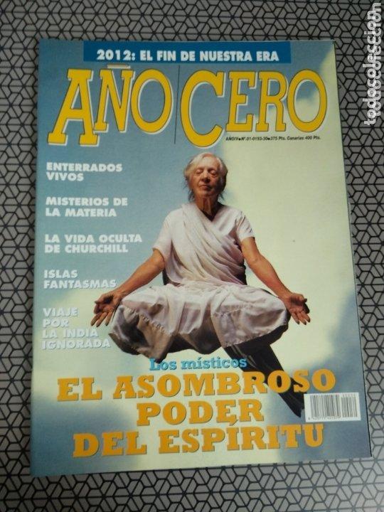 Coleccionismo de Revistas y Periódicos: Lote 28 revistas Año Cero - Foto 24 - 174027804