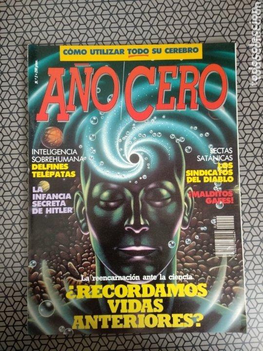 Coleccionismo de Revistas y Periódicos: Lote 28 revistas Año Cero - Foto 26 - 174027804