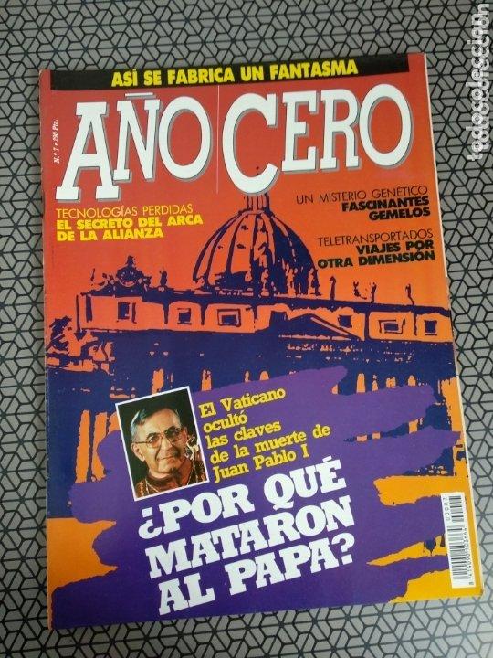 Coleccionismo de Revistas y Periódicos: Lote 28 revistas Año Cero - Foto 29 - 174027804
