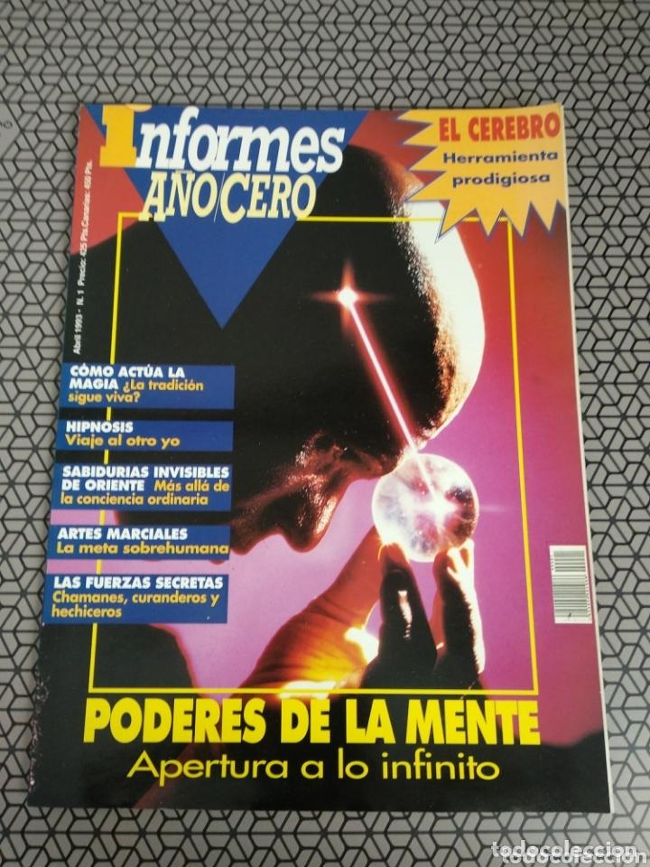 REVISTA INFORMES AÑO CERO 1993 (Coleccionismo - Revistas y Periódicos Modernos (a partir de 1.940) - Otros)