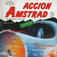 Coleccionismo de Revistas y Periódicos: REVISTA ACCION AMSTRAD. NUMERO 4. Lote 174044504