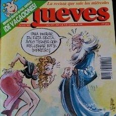 Coleccionismo de Revistas y Periódicos: EL JUEVES. Nº 688. AÑO XIV. DEL 1 AL 7 DE AGOTO DE 1990.. Lote 173712932