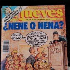 Coleccionismo de Revistas y Periódicos: EL JUEVES. Nº 695. AÑO XIV. DEL 19 AL 27 DE SEPTIEMBRE DE 1990.. Lote 173712957