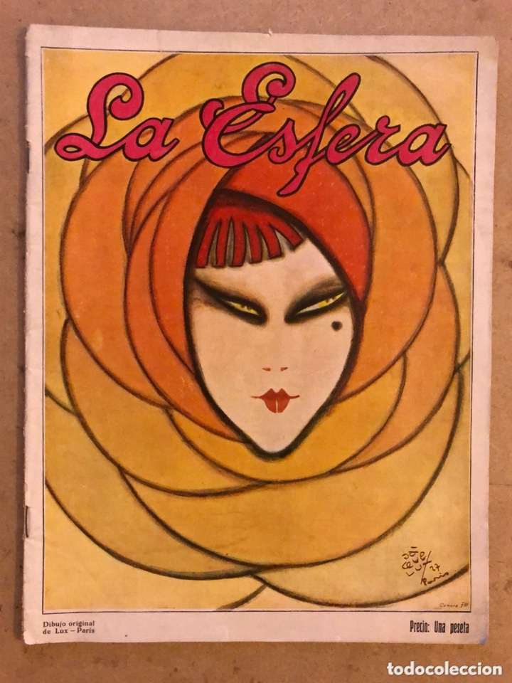 REVISTA LA ESFERA N° 727 (DICIEMBRE 1927). EN BUEN ESTADO. (Coleccionismo - Revistas y Periódicos Antiguos (hasta 1.939))