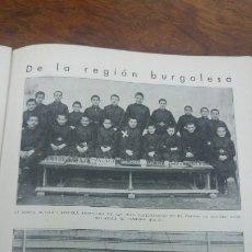 Coleccionismo de Revistas y Periódicos: LA HORRA BURGOS MARQUES VILLORES VALENCIA INCENDIO UNIVERSIDAD GARAVILLA PINTOR BILBAO AÑO 1932. Lote 174047514