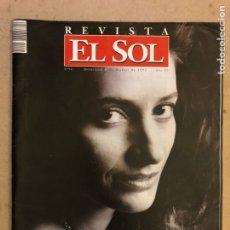 Coleccionismo de Revistas y Periódicos: REVISTA EL SOL N° 94 (MARZO 1992). ASSUMPTA SERNA, REPORTAJE SOBRE LA MAFIA,.... Lote 174047718