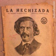Coleccionismo de Revistas y Periódicos: REVISTA LITERARIA NOVELAS Y CUENTOS N° 35 (1929). LA HECHIZADA, BARBEY D'AUREVILLY.. Lote 174047842