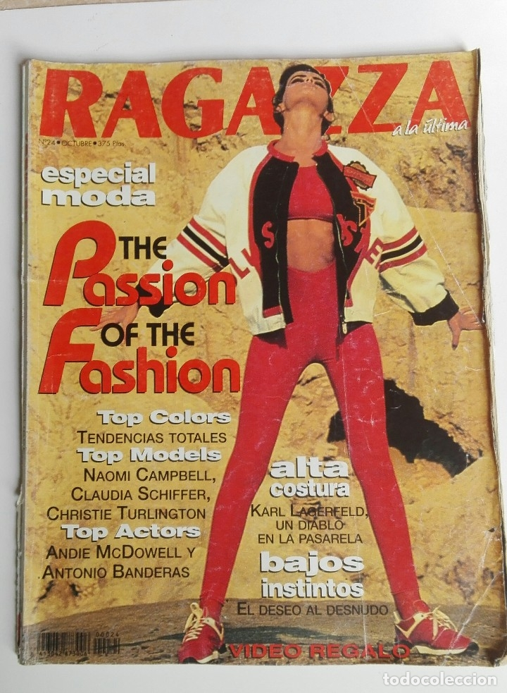 REVISTA RAGAZZA Nº 24 OCTUBRE 1991 (Coleccionismo - Revistas y Periódicos Modernos (a partir de 1.940) - Otros)