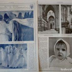 Coleccionismo de Revistas y Periódicos: REPORTAJE REVISTA ORIGINAL 1915. EXPOSICION DE FOTOGRAFIAS, MUY RARO. Lote 174065047