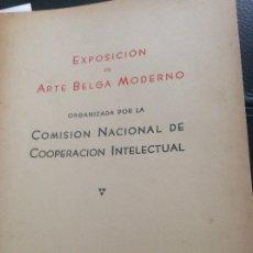 Coleccionismo de Revistas y Periódicos: 1949 EXPOSICIÓN DE ARTE BELGA .BUENOS AIRES. Lote 174071533