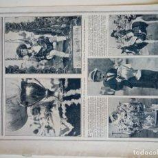 Coleccionismo de Revistas y Periódicos: REPORTAJE REVISTA ORIGINAL CIRCA 1915. EL CONCURSO INFANTIIL DE NUEVA YORK. Lote 174073480