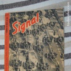Coleccionismo de Revistas y Periódicos: REVISTA SIGNAL S1. GENER 1943.. Lote 174083635