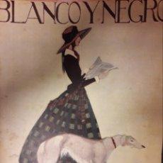 Coleccionismo de Revistas y Periódicos: ANTIGUA REVISTA BLANCO Y NEGRO DE 1924. Lote 174102894