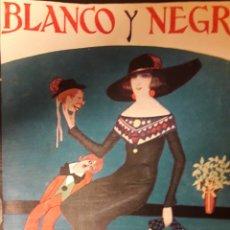 Coleccionismo de Revistas y Periódicos: ANTIGUA REVISTA BLANCO Y NEGRO DE 1924. Lote 174102990