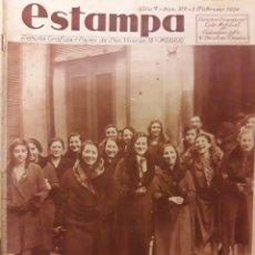 Coleccionismo de Revistas y Periódicos: REVISTA ANTIGUA LA ESTAMPA 1934. Lote 174103487