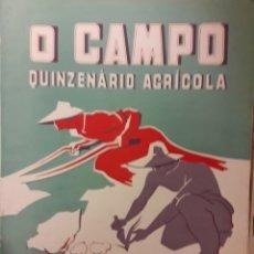 Coleccionismo de Revistas y Periódicos: QUINZENARIO AGRÍCOLA O CAMPO. Lote 174105283