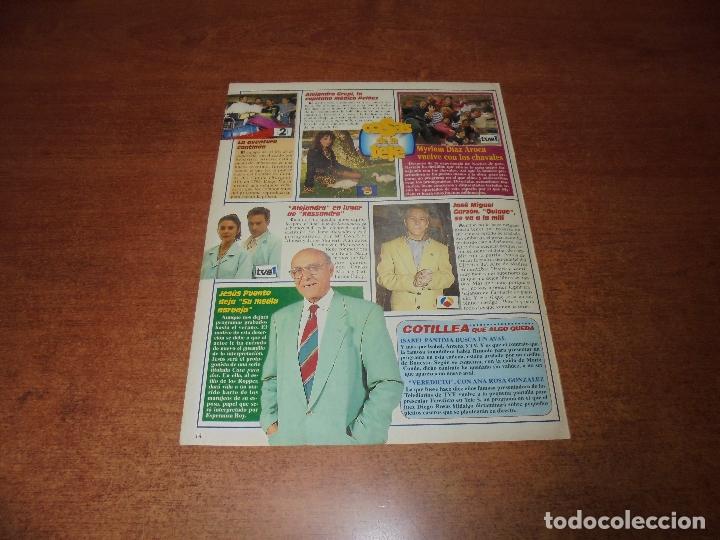 Clipping 1994 Alejandra Grepi Jesús Puente José Miguel Garzón Myriam Díaz Aroca
