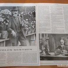 Coleccionismo de Revistas y Periódicos: ENTREVISTA REVISTA ORIGINAL 1915 AL SEÑOR APELES MESTRES. Lote 174152518