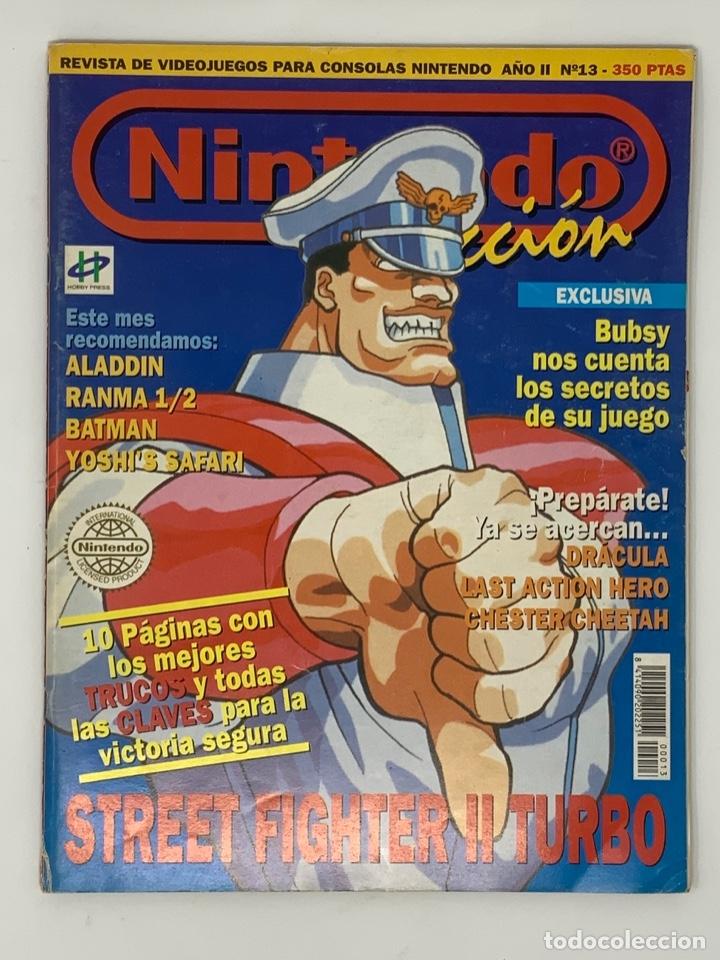 NINTENDO ACCIÓN Nº 13 (Coleccionismo - Revistas y Periódicos Modernos (a partir de 1.940) - Otros)