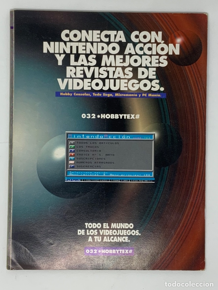 Coleccionismo de Revistas y Periódicos: NINTENDO ACCIÓN Nº 13 - Foto 3 - 174152623