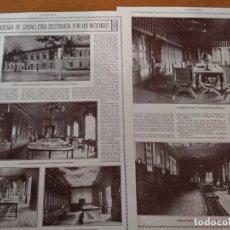 Coleccionismo de Revistas y Periódicos: REPORTAJE REVISTA ORIGINAL 1915. ACADEMIA DE CABALLERIA DESTRUIDA POR INCENDIO, VALLADOLID. Lote 174153143