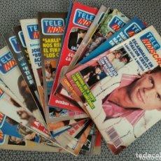 Coleccionismo de Revistas y Periódicos: LOTE 16 REVISTAS TELE INDISCRETA 1988. Lote 174183658
