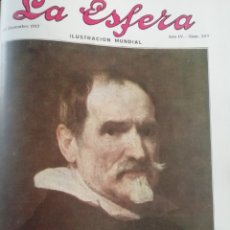 Coleccionismo de Revistas y Periódicos: LA ESFERA 1916 CALLE DE ALCAZABA MALAGA-CAPILLA DE MONTSERRAT-FACHADA IGLESIA MONTESION MALLORCA. Lote 174209848