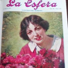 Coleccionismo de Revistas y Periódicos: LA ESFERA 1916 CANONGIA VIEJA SEGOVIA-EL CASTILLO DE MAQUEDA -CARICATURISTA TITO. Lote 174230000