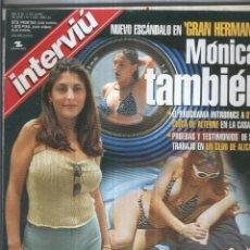 Coleccionismo de Revistas y Periódicos: INTERVIU NUMERO 1258 - MONICA. Lote 174240699