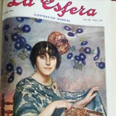 Coleccionismo de Revistas y Periódicos: LA ESFERA 1916 CASTILLO DE AREVALO - ALBAICIN. Lote 174246929