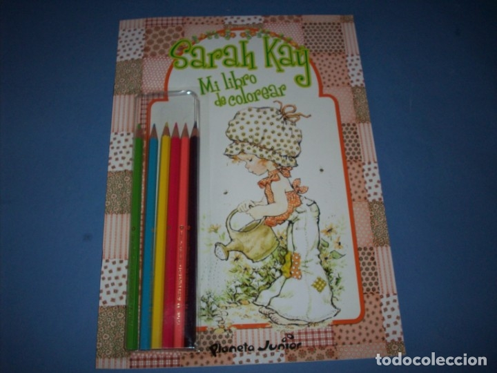 Mi Libro De Colorear Sarah Kay Con Lapices De Colores