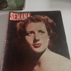 Coleccionismo de Revistas y Periódicos: REVISTA SEMANA Nº 500 - 20 DE SEPTIEMBRE DE 1949. Lote 174251318
