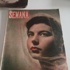 Coleccionismo de Revistas y Periódicos: REVISTA SEMANA Nº 487 - 21 DE JUNIO DE 1949. Lote 174251495