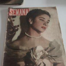 Coleccionismo de Revistas y Periódicos: REVISTA SEMANA Nº 498 - 6 DE SEPTIEMBRE DE 1949. Lote 174251599