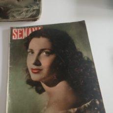 Coleccionismo de Revistas y Periódicos: REVISTA SEMANA Nº 486 - 14 DE JUNIO DE 1949. Lote 174251823