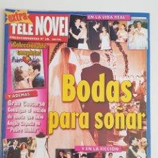 Coleccionismo de Revistas y Periódicos: REVISTA TELE NOVELA. EXTRA. Nº19. BODAS PARA SOÑAR. TDKR64. Lote 174288400