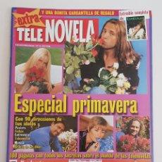Coleccionismo de Revistas y Periódicos: REVISTA TELE NOVELA. EXTRA. Nº 9 . ESPECIAL PRIMAVERA. CON 90 DIRECCIONES DE TUS IDOLOS.TDKR64. Lote 174288857