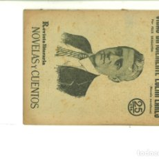 Coleccionismo de Revistas y Periódicos: VIDAS DIFICILMENTE EJEMPLARES. FÉLIX URABAYEN . Lote 174302213