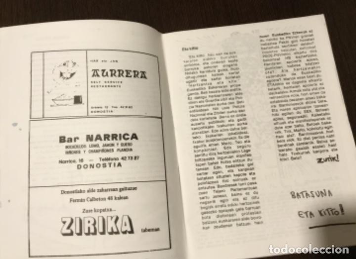 Coleccionismo de Revistas y Periódicos: Revista alternativa politica conflicto vasco - Foto 4 - 174347680