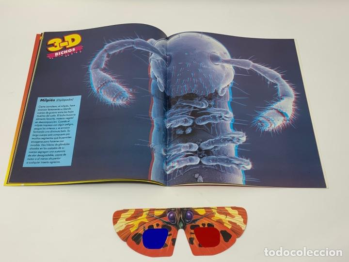 Coleccionismo de Revistas y Periódicos: BICHOS Nº 1,2,3 MAS SUPLEMENTO. PLANETA-DE AGOSTINI GAFAS 3D INCLUIDAS - Foto 7 - 174297053